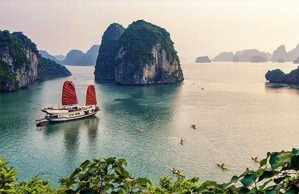 Một góc vịnh Hạ Long