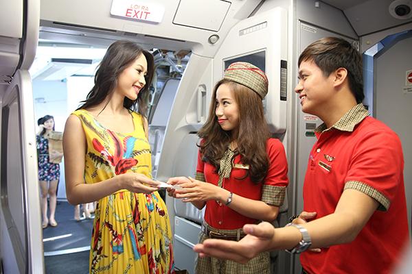 Kiểm tra chuyến bay Vietjet