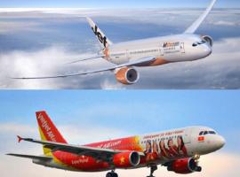 So sánh Vietjet và Jetstar qua những thông tin cơ bản
