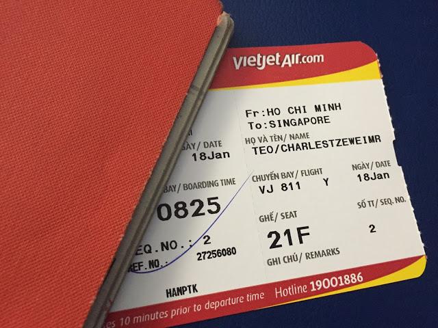 phí đổi vé máy bay Vietjet